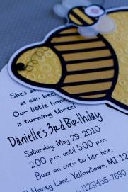 Invite information