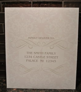 custom printed paper and addressed