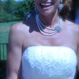 a stunning bride