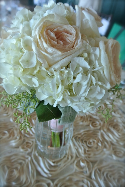 bride's maid bouquet