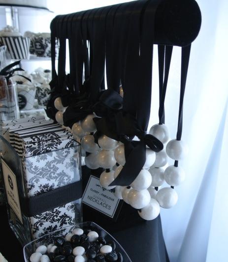 Handmade gum ball necklaces