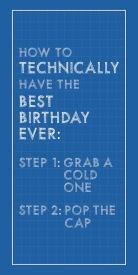 Manly birthday