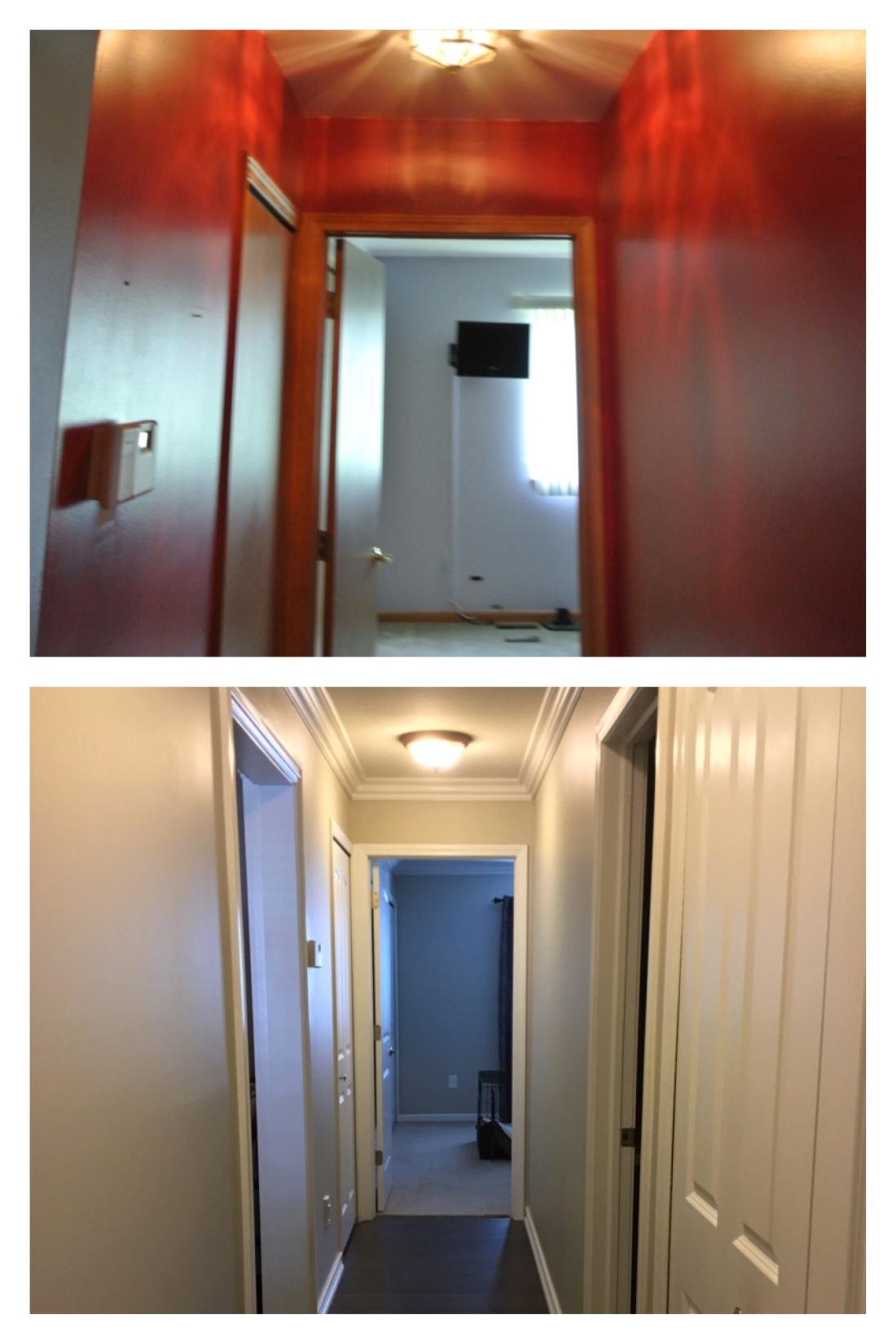 Newcastle hallway